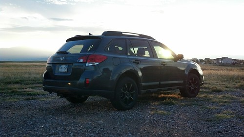 sunset colorado subaru coloradosprings outback36rlimited