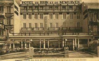 Dieppe, Hôtel du Rhin et de Newhaven