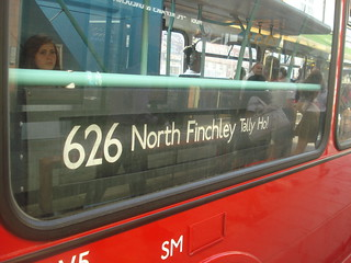 626 to North Finchley, Tally Ho!