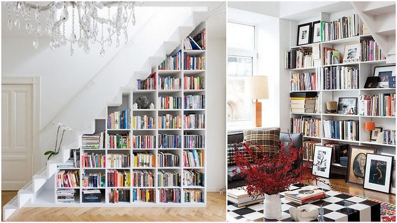 bookshelves col