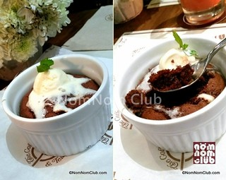 Chocolate Lava a la Mode