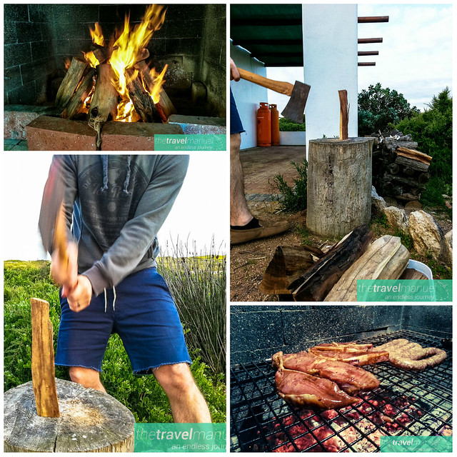 Fire Food Collage Jacobsbaai