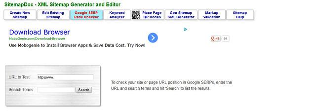 Google SERP Rank Checker