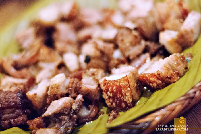 Crispy Pork Liempo at Tita Fannies Liempo and Chicken House