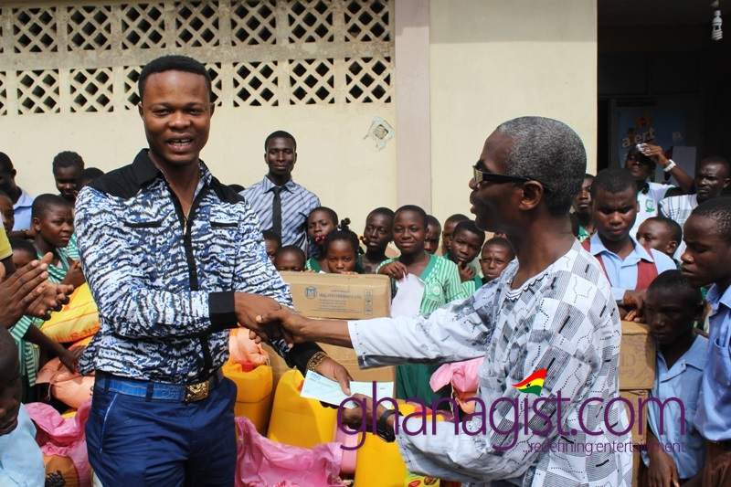 Flava Music donates to Akropong School for the Blind