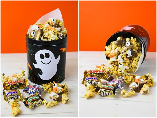 Candy Bar Caramel Corn #SpookyCelebration #shop