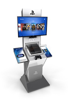 PS4 Retail Kiosks, 02