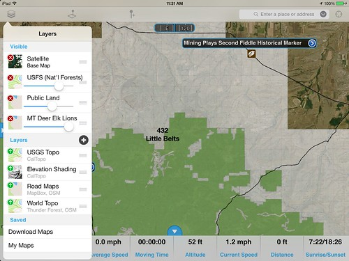 New Hunting Layer In Gaia GPS For Montana Gaia GPS - Aerial hunting maps