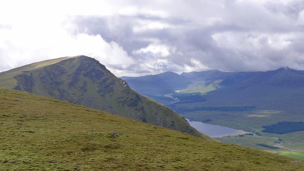 Beinn Achaladair and Loch Dochard