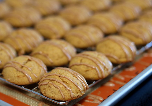 iced pumpkin cookies (gluten-free)