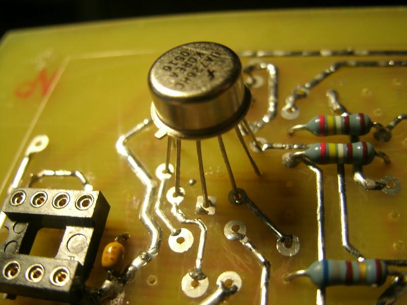 uA726 PCB orientation
