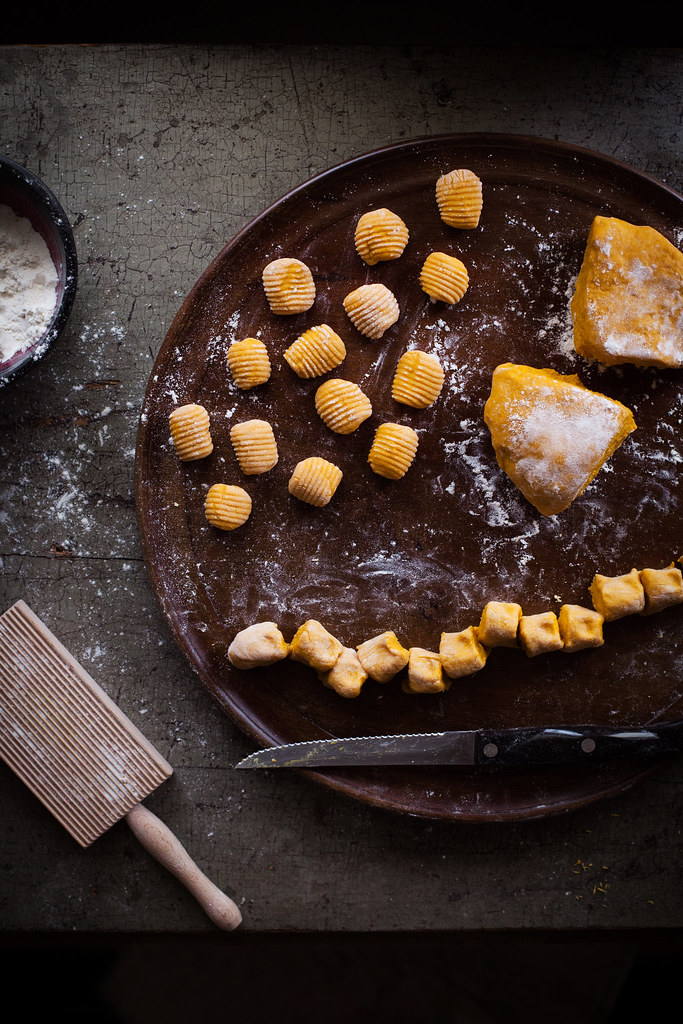 Curry-Spiced Kabocha Gnocchi