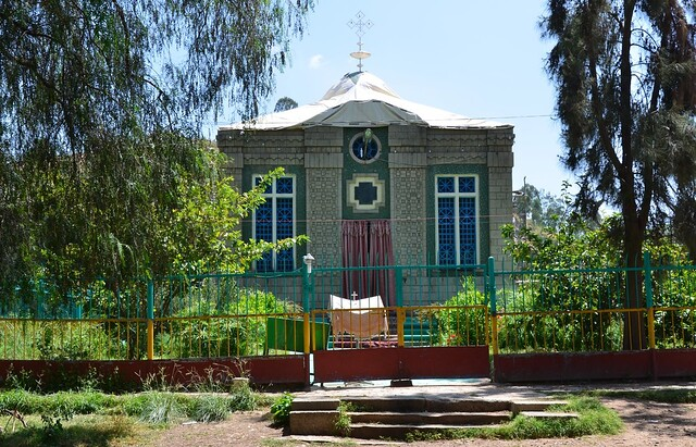 Chapel of the Ark of the Covenant, Axum (2)