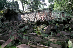 Ta Prohm - Archeological Rubble
