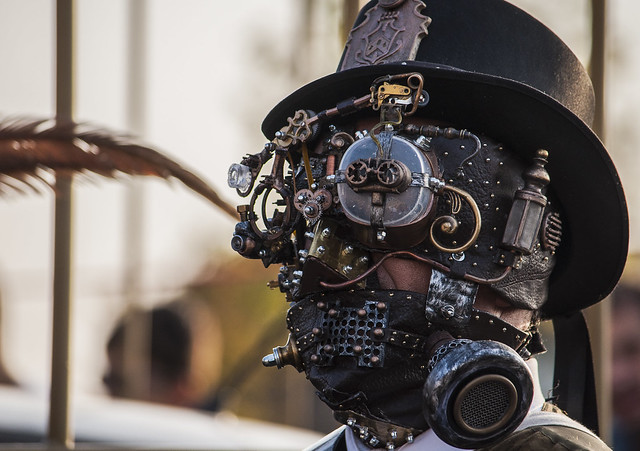 Steampunk Face - Lucca Comics & Games 2013