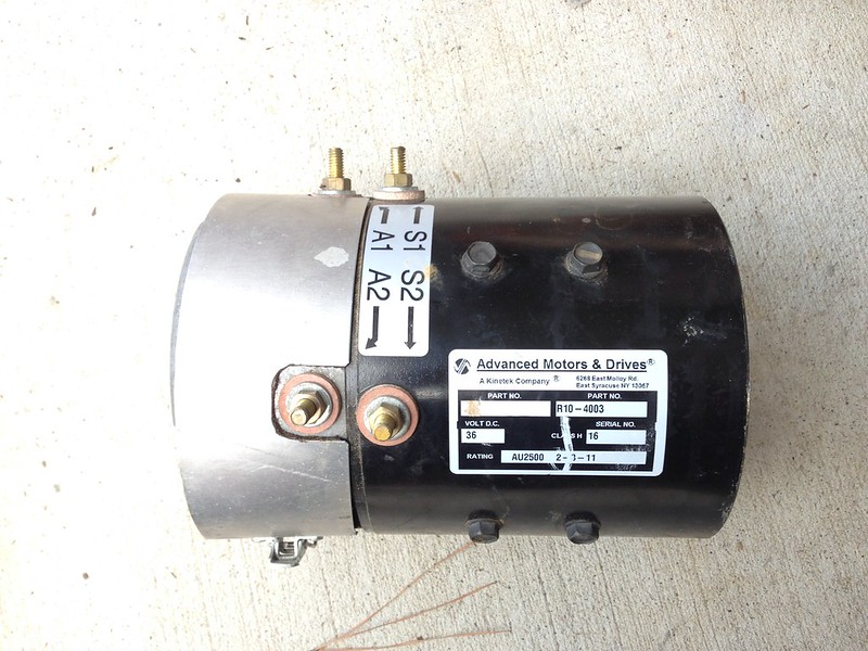 Amd Motor R10 4003 36 Volt Electric Motor