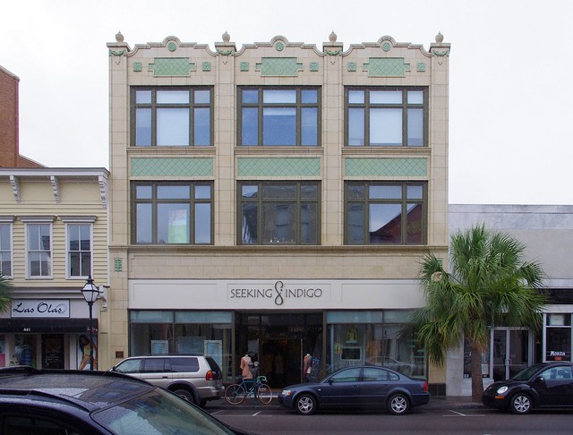 King Street, Charleston, South Carolina, urban architecture, June 10, 2012 (Seeking Indigo is a day spa)