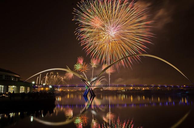 Stockton Fireworks 2013