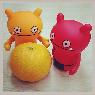 #uglydoll  orange