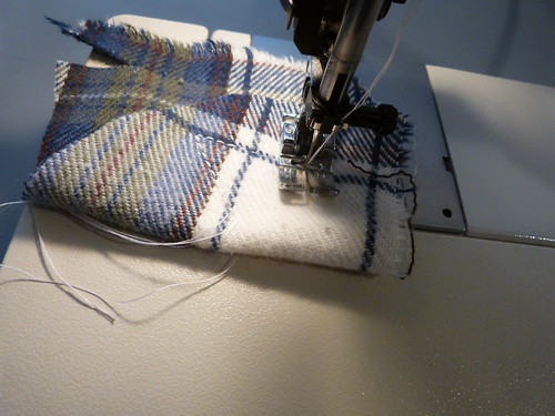 Topstitching With Double Thread