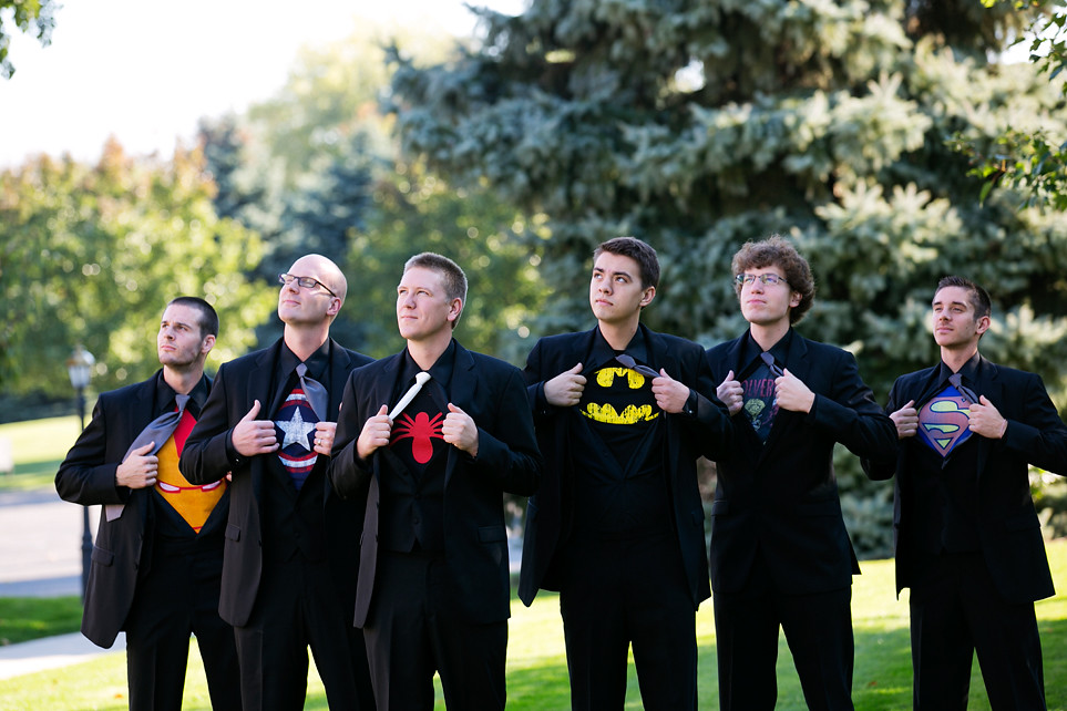 11 Superhero Grooms