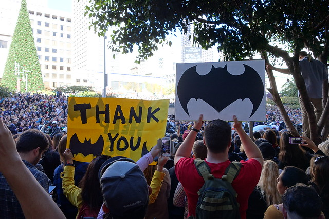 SF BatKid saves Gotham City!