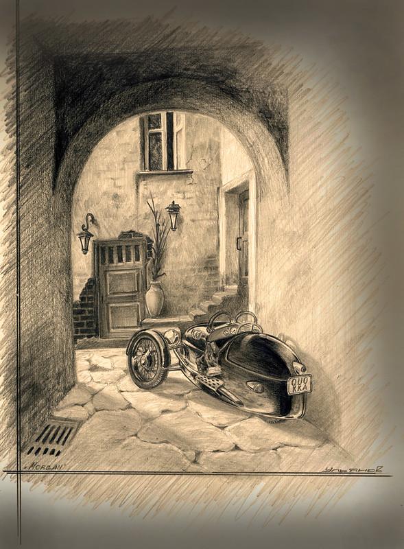 Morgan 3 wheeller