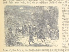 """British Library digitised image from page 103 of """"Der Böhmische Krieg und der Main-Feldzug ... Vierte, vermehrte ... Auflage. Illustrirt von O. Fikentscher, Fr. Kaiser, E. Hünten, Feitz Schulz und Anderen"""""""