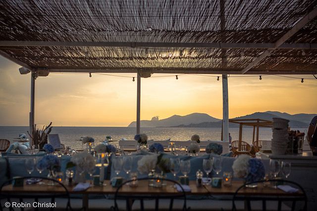 Experimental Beach Ibiza, beach wedding venue