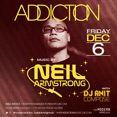 12/6 - DJ Neil Armstrong back in Paradise @ addiction Honolulu Hawaii