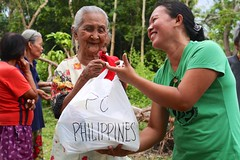 Philippines typhoon relief effort takes a depth and distance approach vs. broad and brief by Peace Gospel