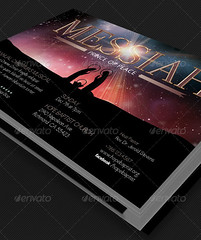 Messiah Christmas Cantata Flyer Template