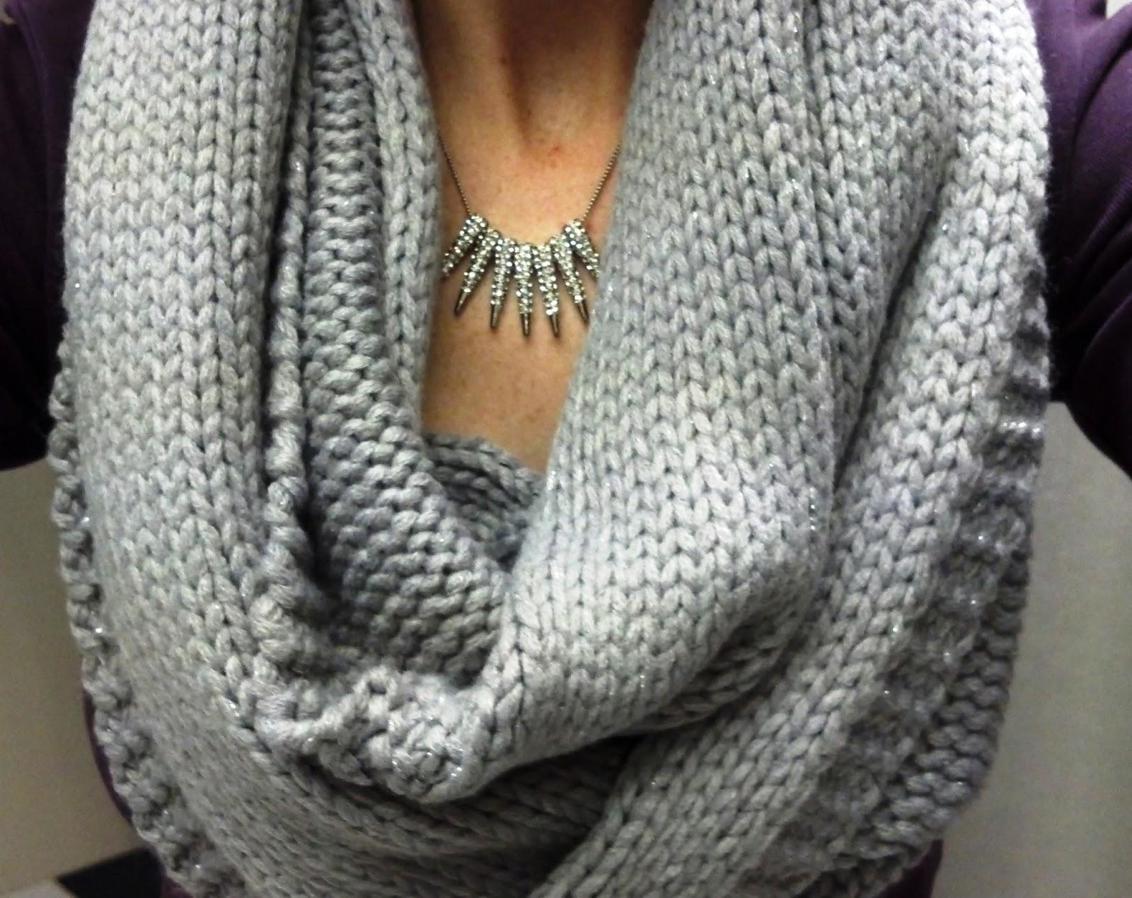 chunky knit scarf_12