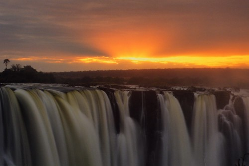africa sunset water sunrise landscapes sunsets waterfalls zimbabwe zambia zambeziriver