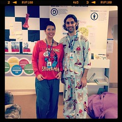 Pajama day for spirit week @ #uwcsea_east. @intrepidteacher
