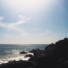 I will never get tired of taking & looking at images of the Pacific. #latergram