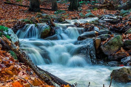 waterfall stream rocky