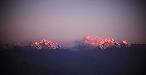 nepal sunset film landscape
