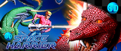 Space Harrier logo