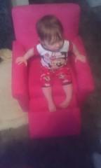 Lovin The New Chair Grandpa!
