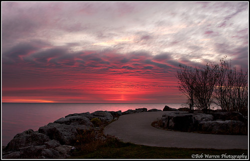 water clouds sunrise lakeontario