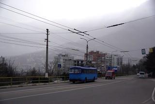 Crimea trolleybus Škoda 9Tr24 5607