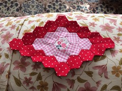 art, pattern, textile, patchwork, flower, red, quilting, design, pink, petal,