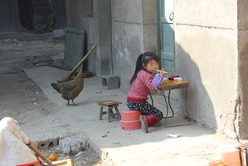 Chinese village girl