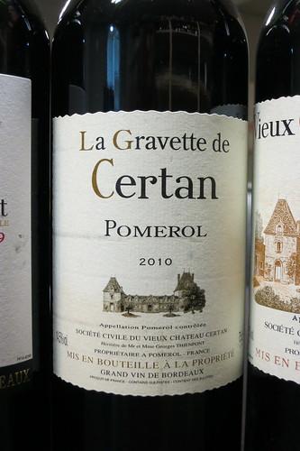 La Gravette de Certan 2010