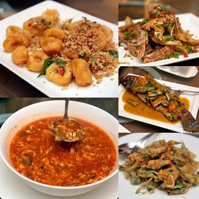 Pantai serves Asian style seafood