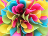 Bouquet of colored Spoon Straws by Batikart