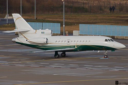 N111 - Dassault Falcon 900 - Third Security, LLC