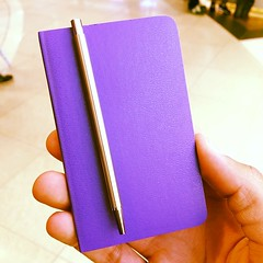 My new moleskin journal... #moleskin