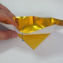 วิธีพับกระดาษเป็นรูปหัวใจติดปีก (Heart Wing Origami) 011
